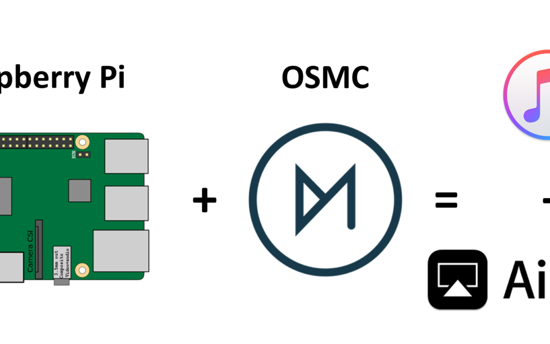 How to play Music or Video in Raspberry Pi via Bluetooth and Airplay using OSMC